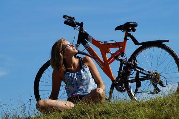 wiosna na rowerze
